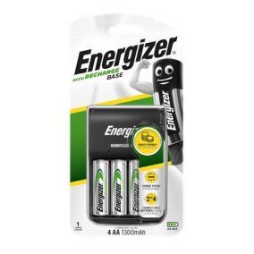 Elemtöltő, AA ceruza/AAA mikro, 4x1300mAh AA, ENERGIZER
