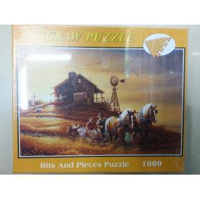 Régi idők puzzle, 1000 darabos