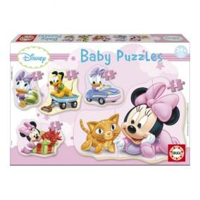 Educa Disney Bébi Minnie egér puzzle, 5 az 1-ben