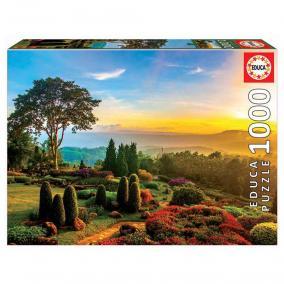 Educa Gyönyörű kert puzzle, 1000 darabos