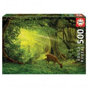 Educa Őz az erdőben puzzle, 500 darabos