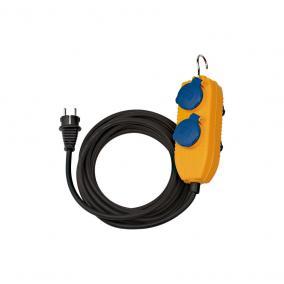Építkezési hosszabbítókábel IP54 Powerblock-al 5m fekete H07RN-F (1169200010)