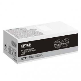 Epson M200 MX200 [BK] [2,5k] (Dupla) toner (eredeti, új)