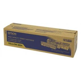 Epson C1600, CX16 [Y] 2,7K #C13S050554 - (eredeti, új)