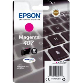 Epson T07U3 [M] No.407 tintapatron (eredeti, új)