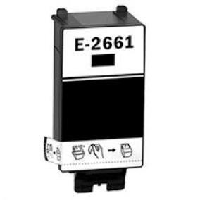 Epson T2661 [BK] kompatibilis tintapatron (ForUse)