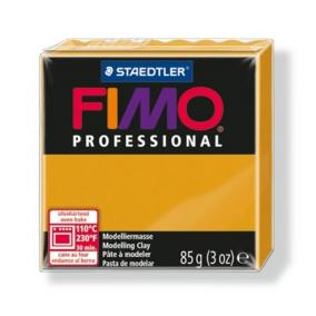 Gyurma, 85 g, égethető, FIMO Professional, okker