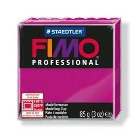 Gyurma, 85 g, égethető, FIMO Professional, magenta