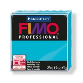 Gyurma, 85 g, égethető, FIMO Professional, türkiz