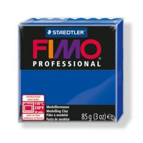 Gyurma, 85 g, égethető, FIMO Professional, ultramarin