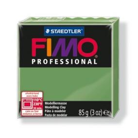Gyurma, 85 g, égethető, FIMO Professional, levél zöld
