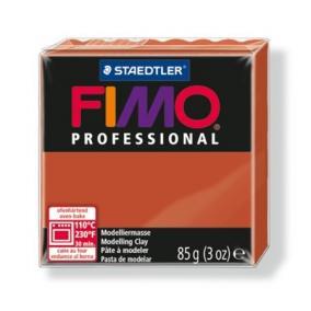 Gyurma, 85 g, égethető, FIMO Professional, terrakotta
