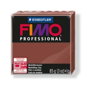Gyurma, 85 g, égethető, FIMO Professional, csokoládé