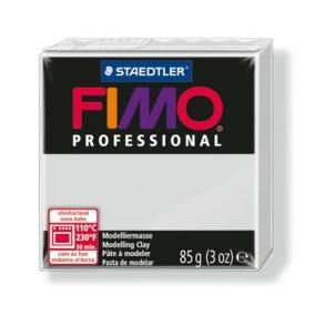 Gyurma, 85 g, égethető, FIMO Professional, delfinszürke