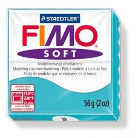 Gyurma, 56 g, égethető, FIMO Soft, borsmenta