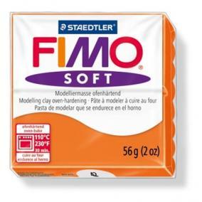 Gyurma, 56 g, égethető, FIMO Soft, mandarin
