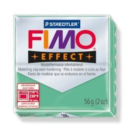 Gyurma, 56 g, égethető, FIMO Effect, jade