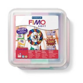Gyurma készlet, 26x57 g, égethető, FIMO