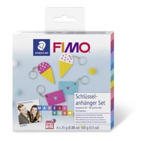 Gyurma készlet, 4x25 g, égethető, FIMO