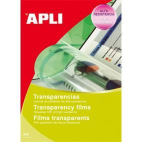 Fólia, írásvetítőhöz, A4, fénymásolóba, adagolóba tölthető, APLI [100 lap]