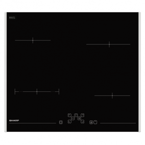 Főzőlap beépíthető kerámia - Sharp, KH6V08FT00EU