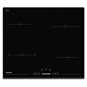 Főzőlap beépíthető kerámia - Sharp, KH6V08BS00EU