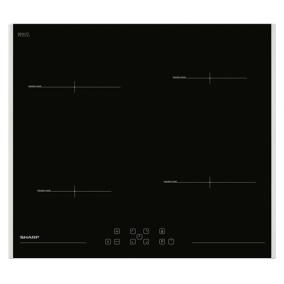 Főzőlap beépíthető indukciós - Sharp, KH6I19FT00EU