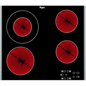 Főzőlap beépíthető kerámia - Whirlpool, AKT8130/LX