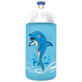 Kulacs, higiénikus műanyagból, 0,5L, FREEWATER