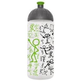 Kulacs, higiénikus műanyagból, 0,7L, FREEWATER,