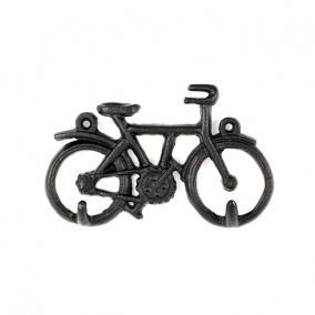 Falra szerelhetõ kulcstartó, kerékpár
