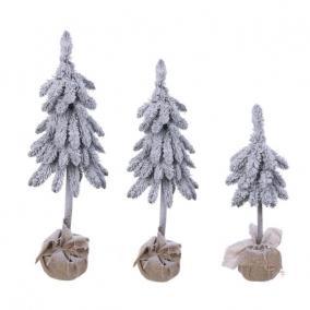 Fenyő zsákban havas műanyag 130/100/60cm [3 db]