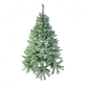 Fenyőfa fém állvánnyal 799 ággal 180 cm zöld