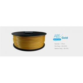 Filament ABS tekercs, 1,75mm Arany (1kg)