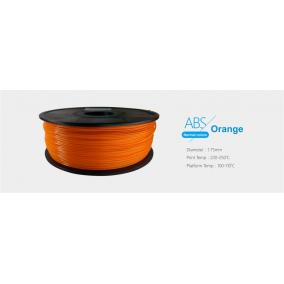 Filament ABS tekercs, 1,75mm Narancssárga (1kg)