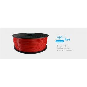 Filament ABS tekercs, 1,75mm Piros (1kg)