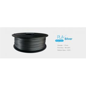 Filament PLA tekercs, 1,75mm Ezüst (1kg)