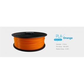 Filament PLA tekercs, 1,75mm Narancssárga (1kg)