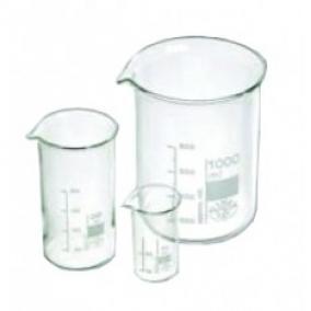 Főzőpohár 600 ml üveg mércés
