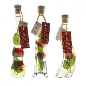 Fürdőolaj díszüvegben 100 ml rózsa