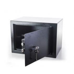 Széf kulcsos zárral 230 x 170 x 170 mm