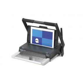Spirálozógép, műanyag spirálkötéshez, manuális, 450 lap, GBC