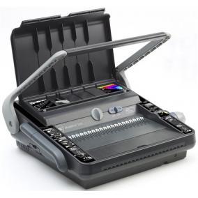 Spirálozógép, fém és műanyag spirálkötéshez, manuális, 450 lap, GBC