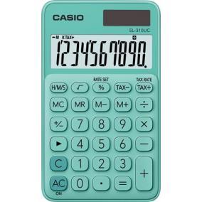Zsebszámológép, 10 számjegy, CASIO