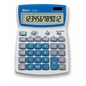 Számológép, asztali, 12 számjegy, IBICO