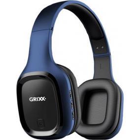 Fejhallgató, Bluetooth, mikrofon, levehető vezeték, GRIXX