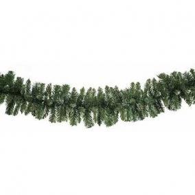 Girland 165 ággal műanyag 270 cm zöld