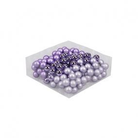 Gömb üveg betűzős 2cm ametiszt [144 db]