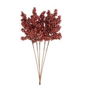 Gyöngy csokor hungarocell 65cm piros