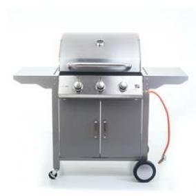 Grillsütő Oklahoma BBQ Premium line gázgrill, 3 égőfej